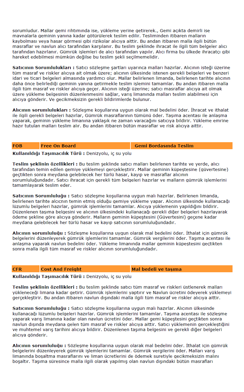 İNCOTERMS 201 4